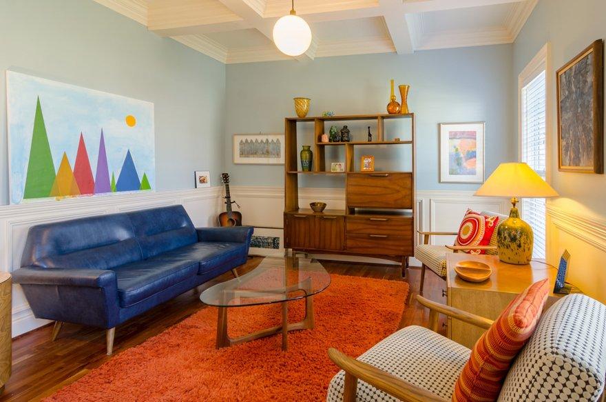 Mid-Century Modern Minimalism interior design style