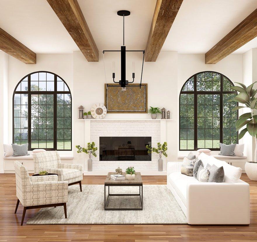 Modern Farmhouse Minimalism interior design style