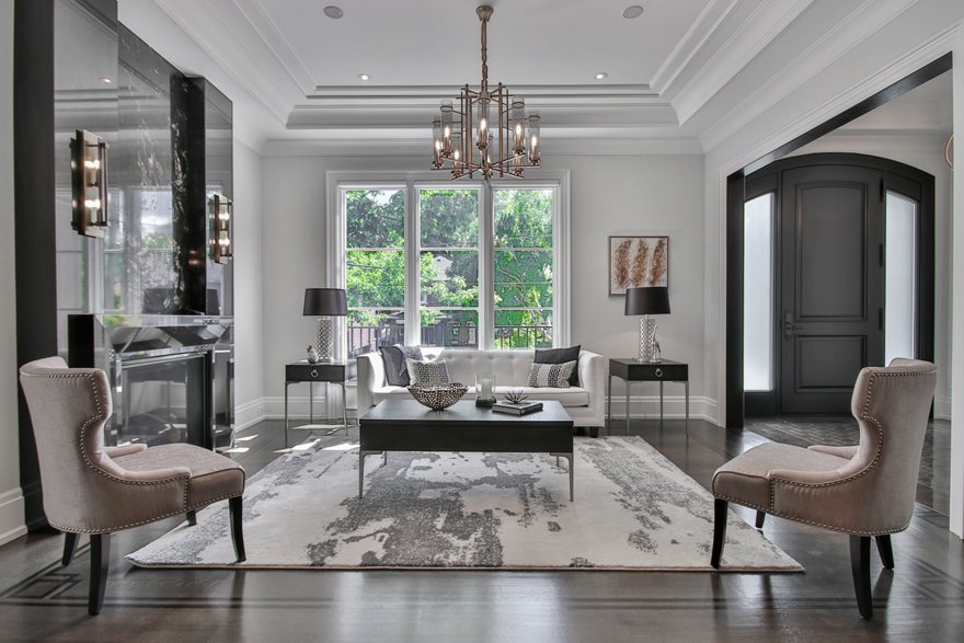 Transitional Minimalism interior design style
